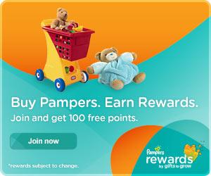 free pampers rewards