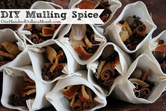 DIY Homemade Mulling Spice