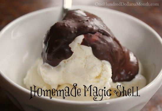 Homemade Magic Shell Recipe