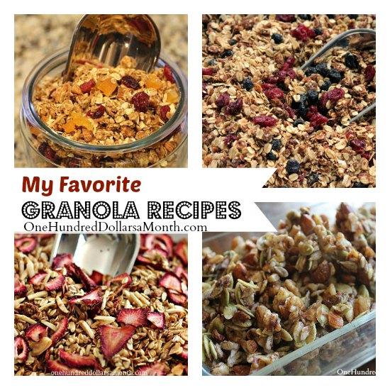 granola recipes