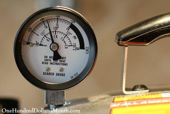 pressure canner guage