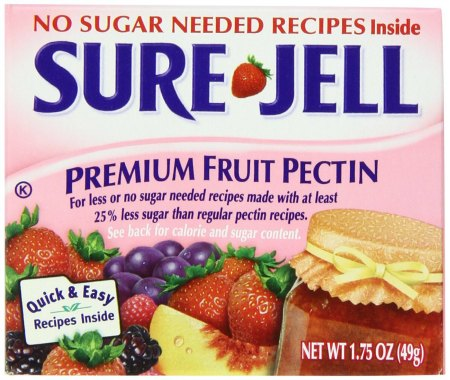 No Sugar Sure-Jell Premium Fruit Pectin, 1.75-Ounce Boxes