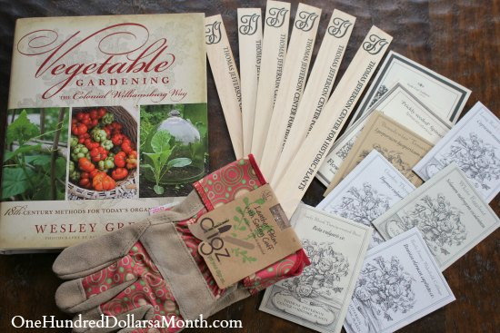 colonial Williamsburg cookbook