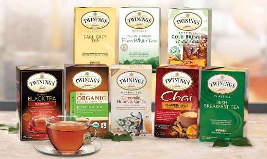 free twinings tea sample