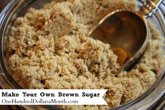 how to How to Make Your Own Brown Sugar