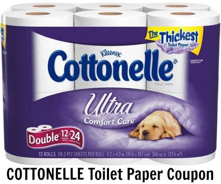 COTTONELLE Toilet Paper Coupon