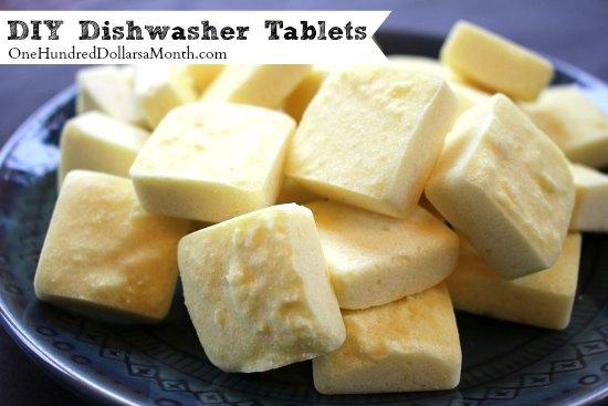 DIY Dishwasher Tablets