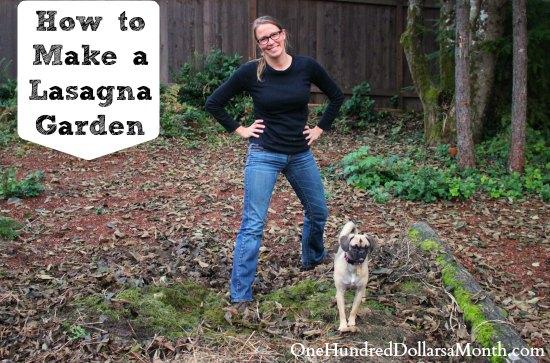 How to Make a Lasagna Garden