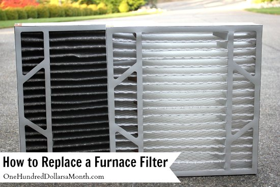How to Replace a Furnace Filter