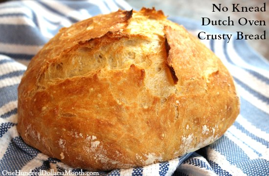 dutch oven crusty bread