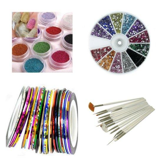 gemstones for manicures