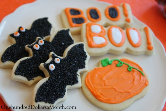 how to make bat cookies halloween