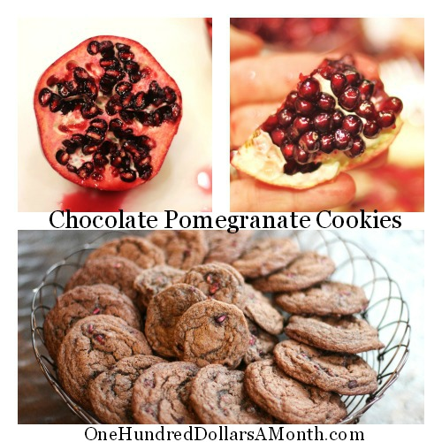Chocolate-Pomegranate-Cookie-recipe