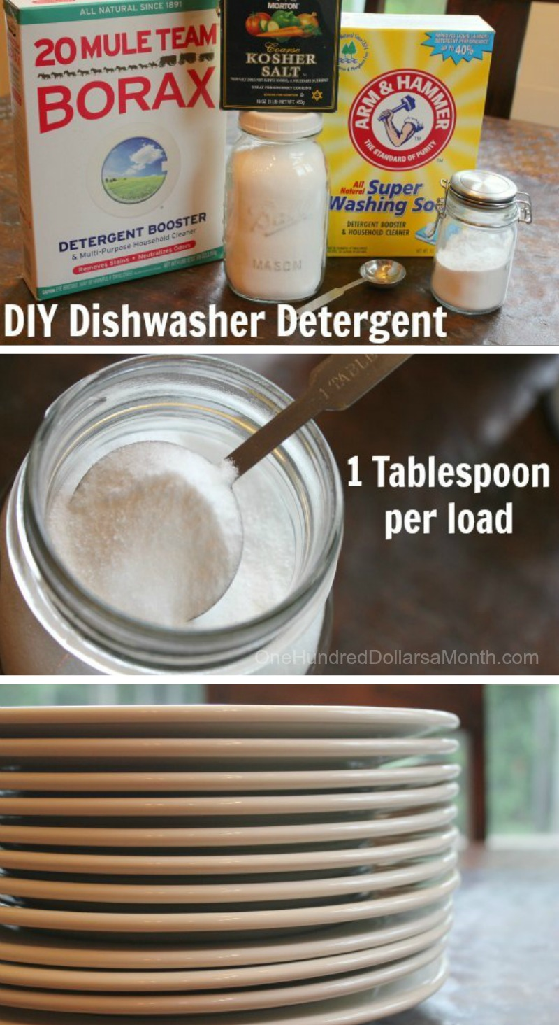 Dishwasher tablets do-it-yourself: effective recipes, comparison with professional products 100