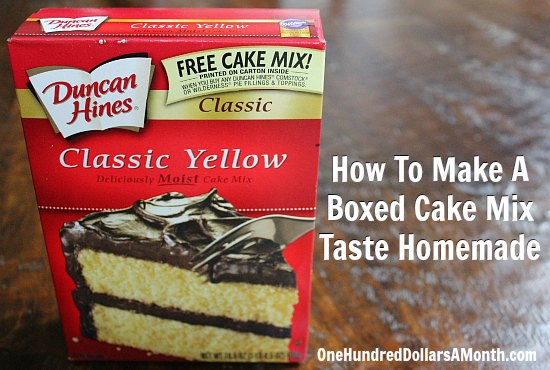 How-To-Make-A-Boxed-Cake-Mix-Taste-Homemade