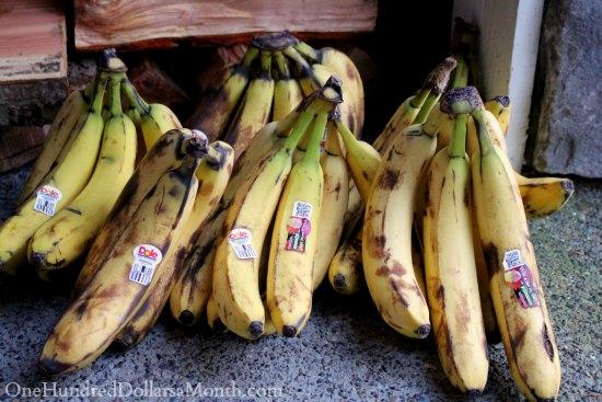 brown bananas