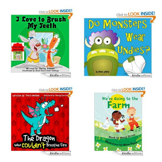 free childrens kindle books
