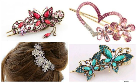 inexpensive hair clips