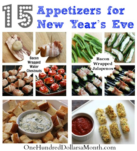 Appetizers for New Year's Eve