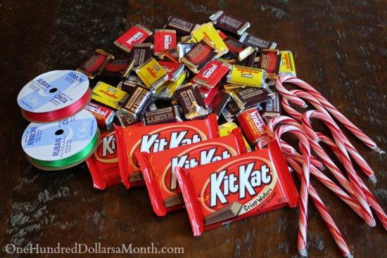 Christmas Candy Craft Ideas.Easy Kids Christmas Candy Crafts Candy Cane Sleigh One