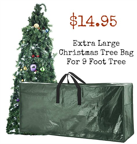 Extra Large Christmas Tree Bag For 9 Foot Tre