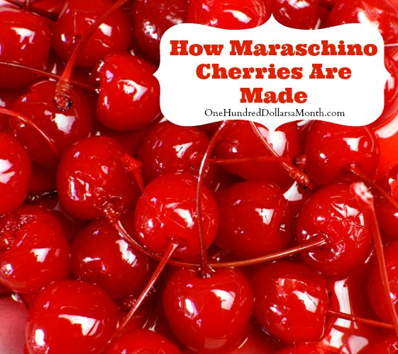 How Maraschino Cherries Are Made