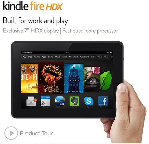kindle fire fox