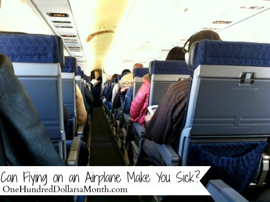 Can Flying on an Airplane Make You Sick