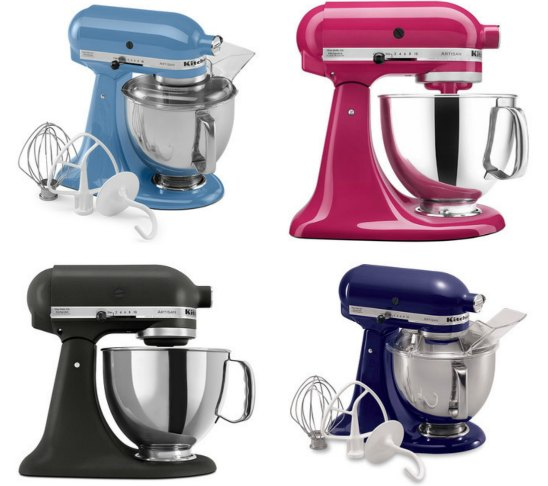 KitchenAid artisan stand mixers