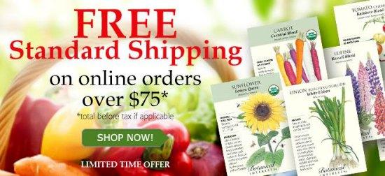 botanical interests discount