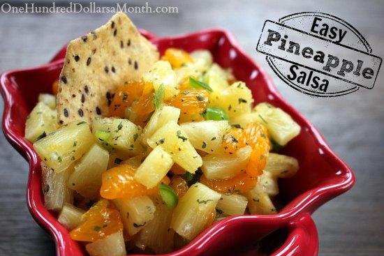easy pineapple salsa