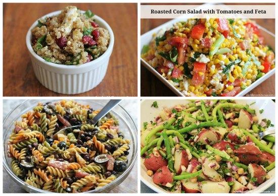 menu plan ideas salads
