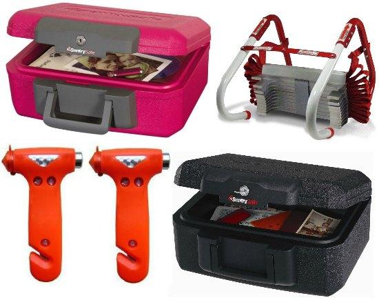 pink fire box safe
