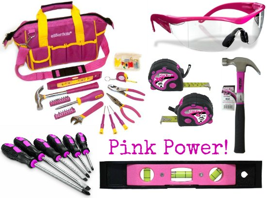 pink power tools