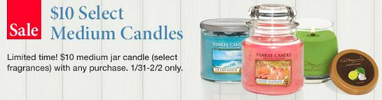 yankee candle coupons