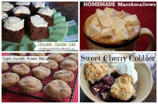 Weekly Meal Plan - Menu Plan Ideas Week 7 of 52 dessert