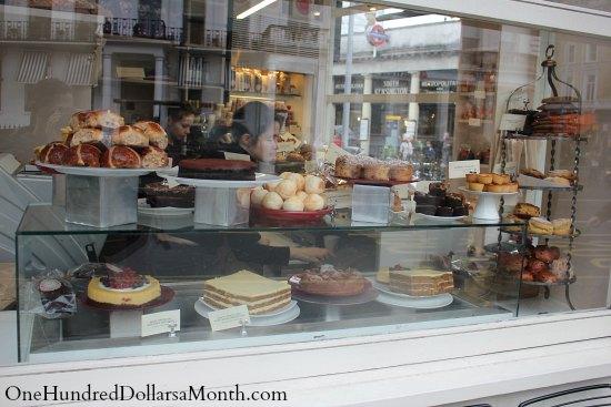 london pastry shop