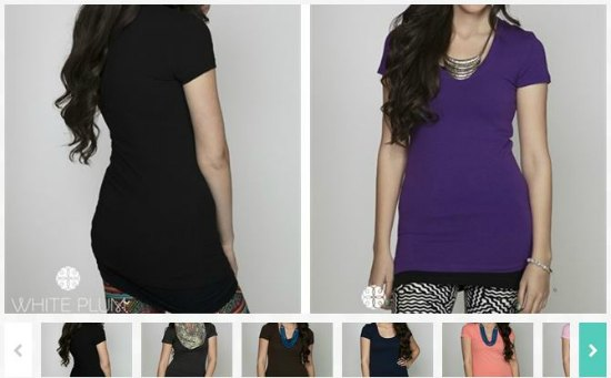 long layering tees