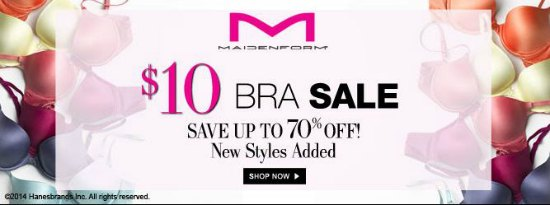 maidenform bra sale coupons