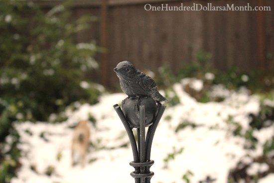 mornings with mavis bird trellis