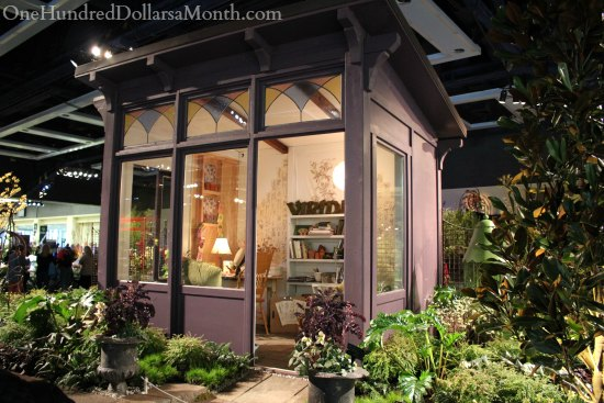 northwest flower and garden show cottage shed