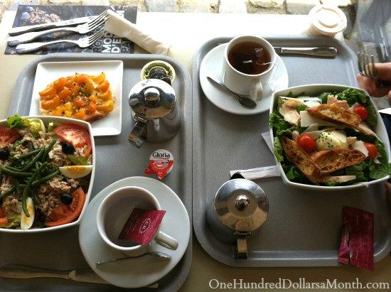 rodin museum cafe
