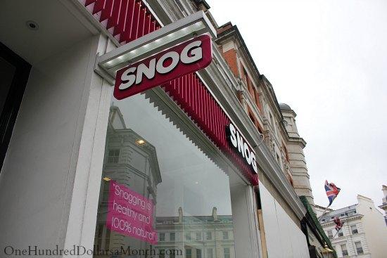 snog snogging