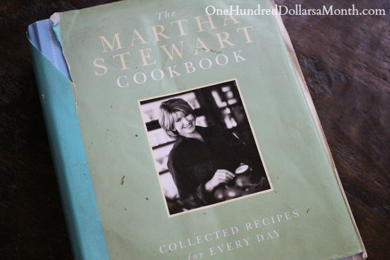 the martha stewart cookbook