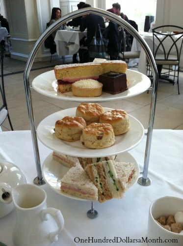 the orangery afternoon tea