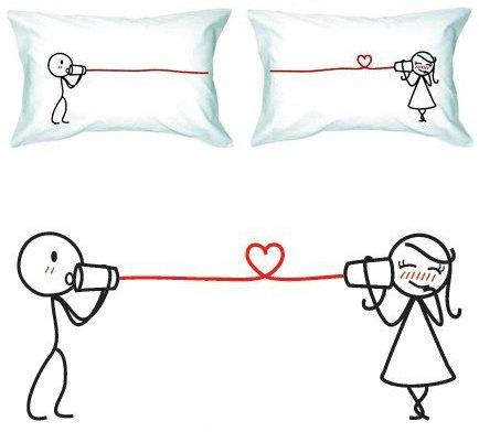 valentine's day pillowcases