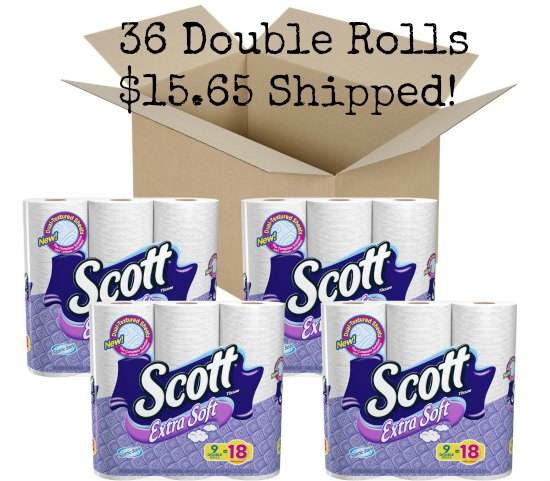 Scott Extra Soft Double Roll Tissue