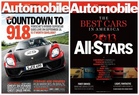 automotive magazine