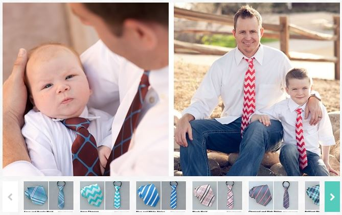 daddy and me ties
