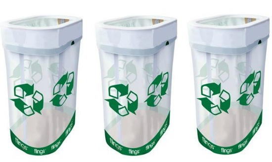 pop up recycling bins
